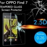 ฟิล์มกระจกนิรภัย Tempered Glass สำหรับ Oppo Find 7 / 7A