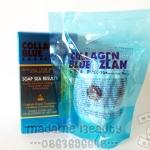 สบู่ Collagen Blue Ozean มาดามเฮง (สบู่คอลลาเจน บลูโอเชี่ยน)