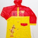 เสื้อกันฝนลายการ์ตูน Pooh 3