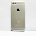 case iphone 5/5s/SE เคสสีเงิน