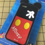 Case Silicone Mickey Mouse จากดิสนีย์ แท้ สำหรับ iPhone 5/5S/5SE