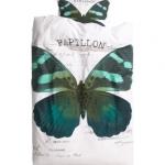 ♥♥พร้อมส่งค่ะ♥♥ H&M Duvet Cover Set color: Turquoise เซตปลอกหมอนพร้อมปลอกผ้านวม ลายผีเสื้อโทนสว่างสวยๆ