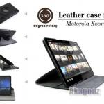 เคส Book Case Cover สำหรับ Motorola Xoom (หมุนได้ 360*)