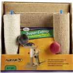 Four Paws Super Catnip Scratching Perch เสาข่วนเล็บสองตอน