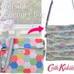 พร้อมส่งค่ะ Cath Kidston Patchwork Spot Reversible Folded Messenger Bag ใช้ได้ 2 ด้านเลย ^ ^