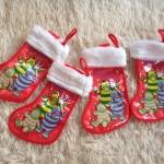 พร้อมส่งค่ะ Christmas is around the corner ถุงเท้าแขวนต้นคริสต์มาสอันเล็ก The Fimbles