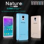 เคสยางนิ่ม บางเฉียบ Samsung Galaxy Note 4 เกรดพรีเมี่ยม ยี่ห้อ Nillkin