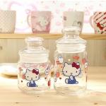 so cute ขวดโหลแก้วอเนกประสงค์ Hello Kitty by Sanrio Korea มีกล่องใส่ให้ด้วยนะคะ