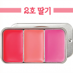 Skinfood Fresh Fruit Lip & Cheek 3 Color #2 Strawberry