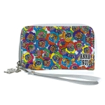 Anna Sui Multicolor Rose Print Phone Case