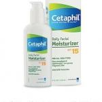 มอยส์เจอร์ไรเซอร์ ผสมครีมกันแดด ให้ความชุ่มชื้นระหว่างวันด้วย Cetaphil เซตาฟิล Cetaphil Daily Facial Moisturizer SPF15 PA+++