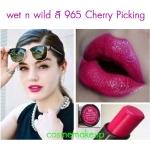 ขายของแท้เท่านั้น Wet n Wild Mega Last Lip Color 3.3 g สี965 Cherry Picking