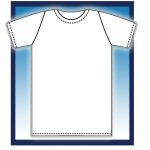 เสื้อยืดสีพื้น ไม่สกรีนลาย (สีขาว,คอกลม)