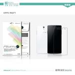 ฟิล์มใส ลดรอยนิ้วมือ Oppo Find 5 Mini - R827 เกรดพรีเมี่ยม ยี่ห้อ Nillkin