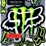 สติ๊กเกอร์ Monster 8
