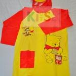เสื้อกันฝนลายการ์ตูน Pooh 2 (size 8)