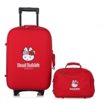 [Preorder] กระเป๋าล้อลากกระต่ายน้อย พร้อมกระเป๋าสะพายข้าง สีแดง (1 เซ็ต/2 ใบ) Beini Rabbit 2013 new cartoon cute boxes Trolley female luggage suitcase set