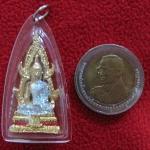 พระพุทธชินราชเลี่ยมกรอบใสของวัดหนองหอย จ.ราชบุรีค่ะ (พร้อมเงินก้นถุงค่ะ)