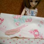 ผ้าคอตตอน50x45 cm+ ผ้าในไทย 50x55 cm