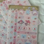 My Melody decorating stickers