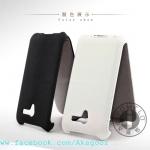 เคสหนังแท้ Asus PadFone 2 <A68> รุ่น Flip Leather Case