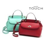 MANGOTOUCH buckle bag with portable shoulder strap สี reddish brown