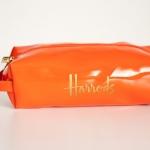 พร้อมส่งค่ะ Harrods  pencil bag/ zip pouch สีส้ม