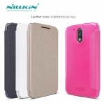 Nillkin Sparkle Leather Case (Moto G4 Plus)