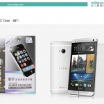 ฟิล์มกันรอยแบบด้าน HTC One M7 เกรดพรีเมี่ยม ยี่ห้อ Nillkin