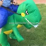 รีวิวสินค้าจริง รีวิวชุดไดโนเสาร์เป่าลม ชุดขี่ไดโนเสาร์ ของเล่นสุดฮา