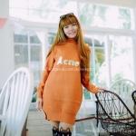 สินค้าพร้อมส่ง เสื้อกันหนาวไหมพรม สไตล์เกาหลี
