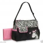 Baby Boom - Diaper Bag, Zebra ขนาด 40x 32x18 cm.