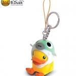 พวงกุญแจ B.Duck ชุดปักเป้า