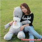 ตุ๊กตาหมี little bubu bear จากการ์ตูนเกาหลี ชื่อดัง little bubu ขนาด 80 ซม.