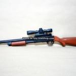 ปืนลูกซองอัดลม (ชักยิง) + ลำกล้อง(เลเซอร์) [AIR SOFT SHOT GUN] No.480