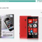ฟิล์มกันรอยแบบด้าน Nokia Lumia 720 เกรดพรีเมี่ยม ยี่ห้อ Nillkin