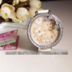 [Preorder] นาฬิกาข้อมือประดับรองเท้า ดอกไม้ และผีเสื้อ Korea genuine MINI table handmade cartoon polymer clay watch the Princess life of the female form