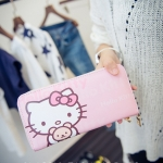 [Preorder] กระเป๋าสตางค์แบบยาว Hello Kitty (Kitty kitty change bag holding wild card Wallet)