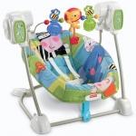 เปลไกว เปลสวิงไฟฟ้า Fisher-Price Space Saver Swing and Seat, Discover'N Grow