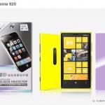 ฟิล์มกันรอยแบบด้าน Nokia Lumia 920 เกรดพรีเมี่ยม ยี่ห้อ Nillkin