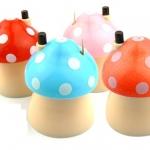 [Preorder] ที่ใส่ไม้จิ้มฟันเห็ดน้อยน่ารักๆ คละสี cute mushroom toothpick box automatically Toothpick Holder toothpicks cans creative home toothpick bottle (5 อัน/แพ็ค)