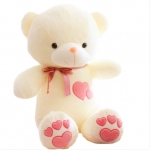 [Preorder] ตุ๊กตาหมีแฟชั่น ปักหัวใจสีชมพู ขนาด 70 ซม. Teddy Bear plush toy doll doll doll bear hug Bear Valentine large birthday present female