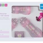 ขวดนมมัม MAM Thailand สีชมพู gift set ชุดของขวัญ