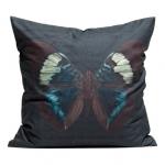 ♥♥พร้อมส่งค่ะ♥♥ H&M Canvas Cushion Cover  ปลอกหมอนลายผีเสื้อสวยๆ โทนมืด สีเข้ม