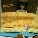 SEP58.Pack13 : ผ้าจัดเซตUSA+ ผ้าคอตตอนลายจุดหาได้ในไทย ขนาดผ้า25-27 x45-50cm