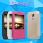 เคสหนังฝาพับ Huawei G7 Plus ยี่ห้อ Nillkin Sparkle Leather