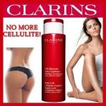 ลด47% Clarins Body Lift Cellulite Control 200 ml. (no box).บอกลา เซลลูไลท์ และรอยขรุขระ ผิวส้ม ช่วยให้ผิวดูเรียบเนียนขึ้น นุ่มเนียนขึ้น กระชับขึ้นในทุกๆวัน