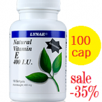 Lynae Natural Vitamin E 400 I.U. 90 เม็ด ขนาด 3 เดือน สำเนา