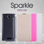เคสหนังฝาพับ Oppo Neo 3 / Neo 5 ยี่ห้อ Nillkin Sparkle Leather