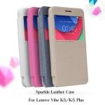 เคสหนังฝาพับ Lenovo Vibe K5 / K5 Plus ยี่ห้อ Nillkin Sparkle Leather